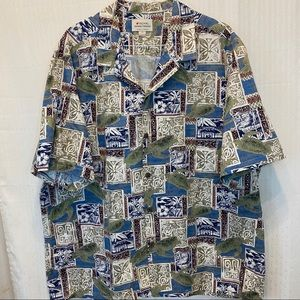 Royal Hawaiian Collection mens Hawaiian 3xl Shirt